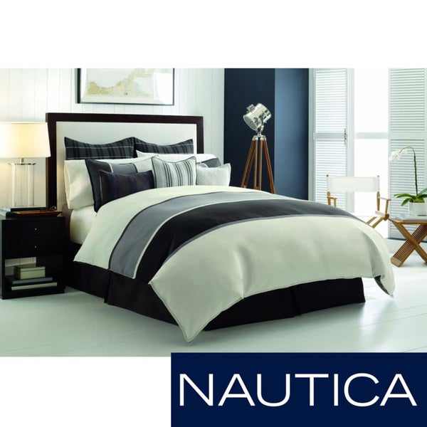 Nautica Oyster Point Duvet Cover