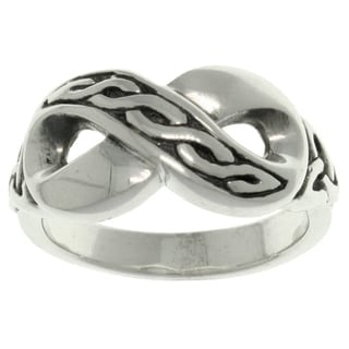 Carolina Glamour Collection Sterling Silver Celtic Infinity Ring