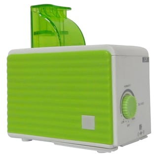 SPT Green/ White Ultrasonic Humidifier