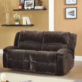 Bolington Recliner Microfiber Loveseat