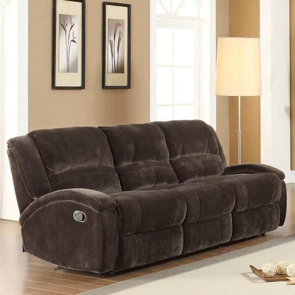 Bolington Recliner Microfiber Sofa