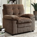 Sequoia Golden Brown Chenille Chair