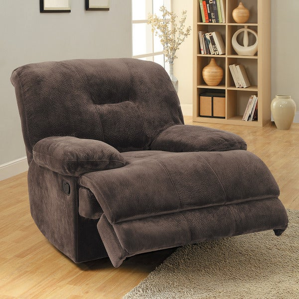 Felicity Chocolate Champion Microfiber Reclining Chair
