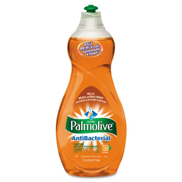 Ultra 25 Ounce Bottles Palmolive Antibacterial Dishwashing Liquid (12 Count)