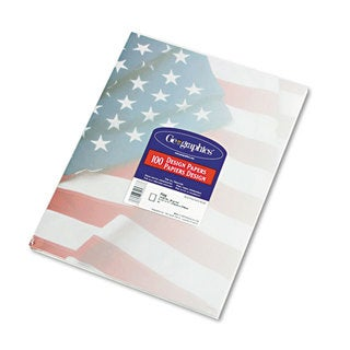 Geographics Flag Design Paper (24-pounds )