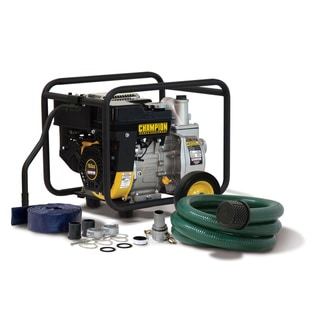 Champion 2 inch Trash/ Water Transfer Pump with Hose Kit