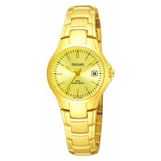 Pulsar Women's Goldtone Stainless Steel Dress Watch