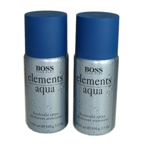 Boss Elements Aqua Men 3.5-ounce Deodorant Spray