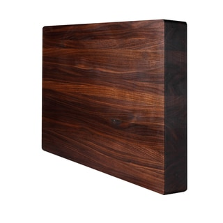 Kobi Square Walnut 1.5-inch Thick Butcher Block Cutting Board