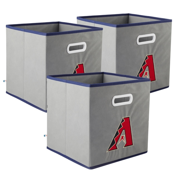 My Owner's Box MLB Fabric Storage Drawer 3-piece Set