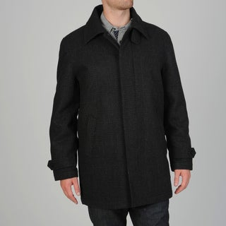 Geoffrey Beene Men's Gene Wool Blend Carcoat
