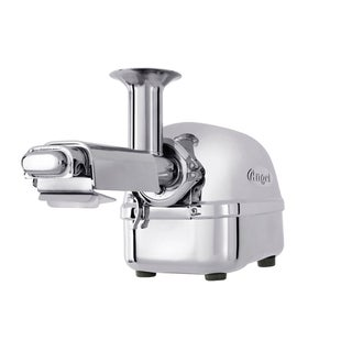 Super Angel Stainless Steel Twin Gear Juicer