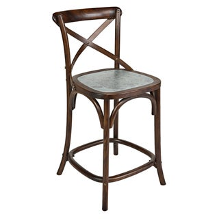 Portfolio Wood 24 inch Gabriella Bar Stool