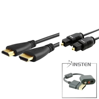 INSTEN RCA Adapter/ HDMI Cable/ TosLink Cable for Microsoft Xbox 360