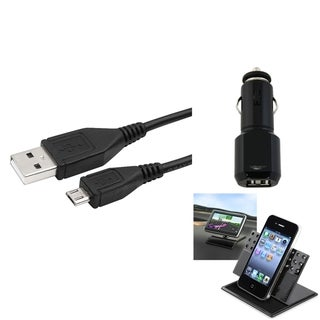 BasAcc 360-degree Swivel Holder/ Cable/ Charger for Samsung� Galaxy S3