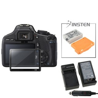 BasAcc Charger/ Li-ion Battery/ Glass Protector for Canon EOS 550D