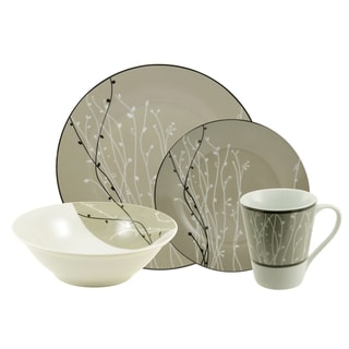 10 Strawberry Street 'Hudson' 16-piece Dinnerware Set