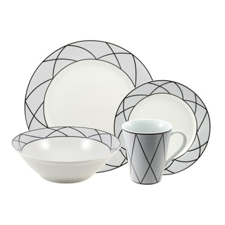 10 Strawberry Street 'Tiara' 16-piece Dinnerware Set