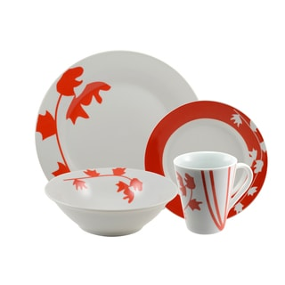 10 Strawberry Street 'Inferno' 16-piece Dinnerware Set