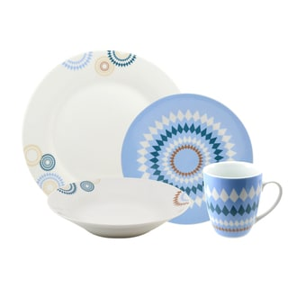10 Strawberry Street 'Diamonte' 16-piece Dinnerware Set