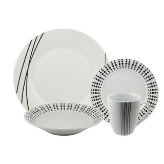 Elements 16 piece Dinnerware Set