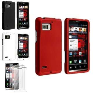 BasAcc Rubber Coated Case/ Protector for Motorola Droid Bionic XT875