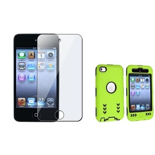 BasAcc Black/ Green Case/ Protector for Apple iPod Touch Generation 4