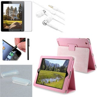 INSTEN Stylus/ Case/ Protector/ Plug/ Headset for Apple iPad 2/ 3