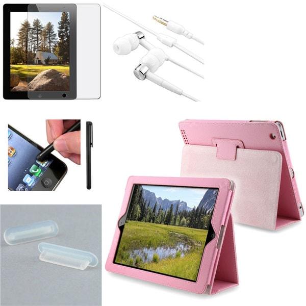 INSTEN Stylus/ Case/ Protector/ Plug/ Headset for Apple iPad 2/ 3