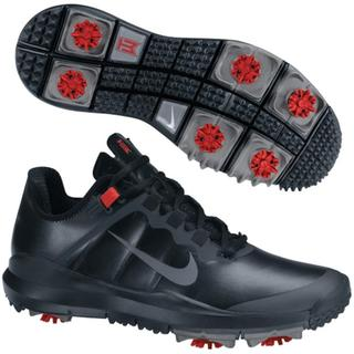 Nike Golf TW '13 Men's Black Golf Shoes