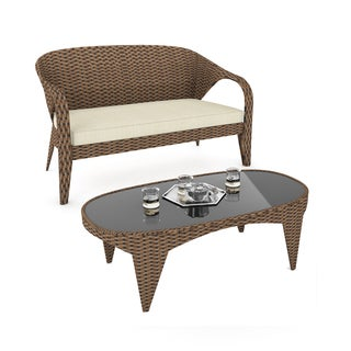 Sonax Harrison Patio Sofa and Table