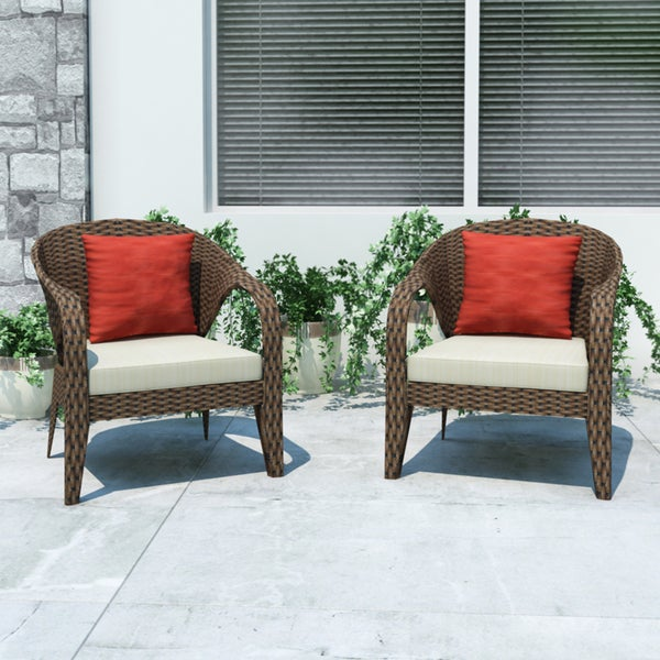 Sonax Harrison Patio Chairs Overstock Shopping Big Discoun
