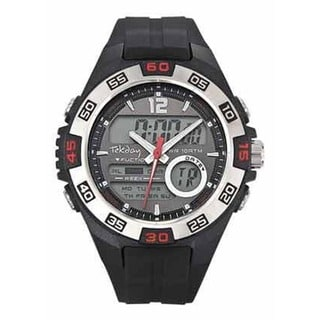 Tekday Men's Digital Dual-time Watch