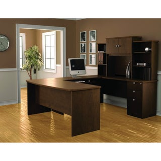 Bestar Palmer U-Shaped Workstation