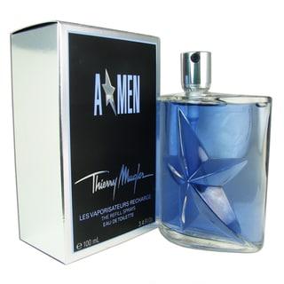 Thierry Mugler 'A Men' Men's 3.4-ounce Eau de Toilette Refill Spray
