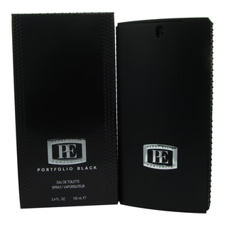 Perry Ellis Portfolio Black Men's 3.4-ounce Eau de Toilette Spray