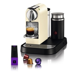 Nespresso Citiz and Milk Creamy White Espresso Maker (Refurbished)