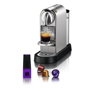 Nespresso CitiZ Silver Chrome Espresso Maker (Refurbished)