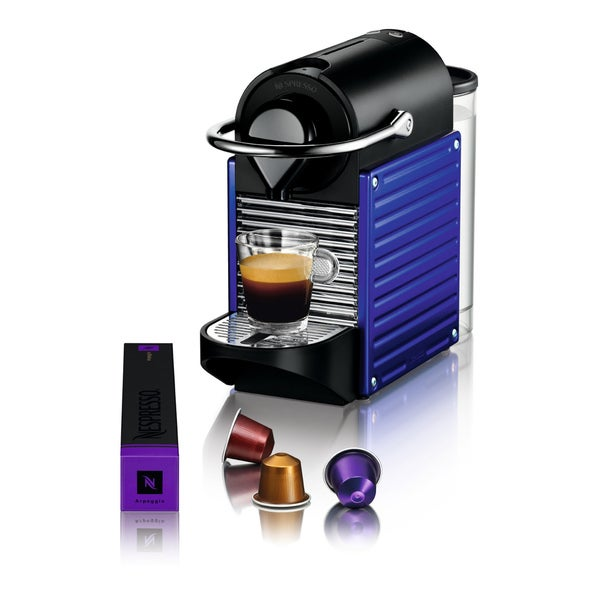 Nespresso Pixie Electric Indigo Espresso Maker (Refurbished)