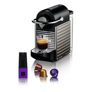 Nespresso Pixie Electric Titanium Espresso Maker (Refurbished)