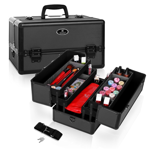 Shany Lightweight Makeup Train Case