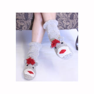 Sock Monkey Socks (Nepal)