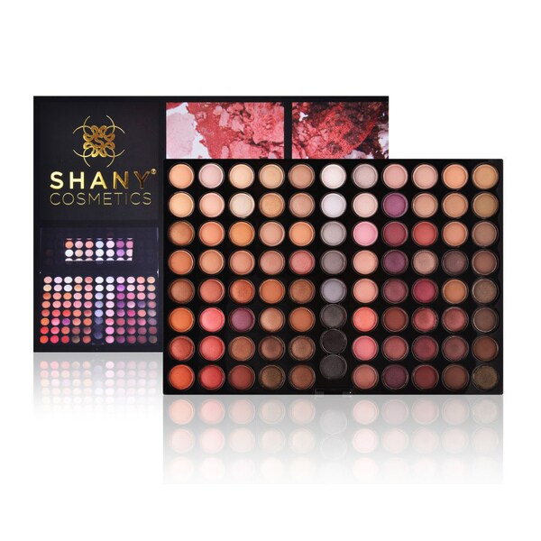 Shany Natural Fusion 88-Color Nude Eyeshadow Palette
