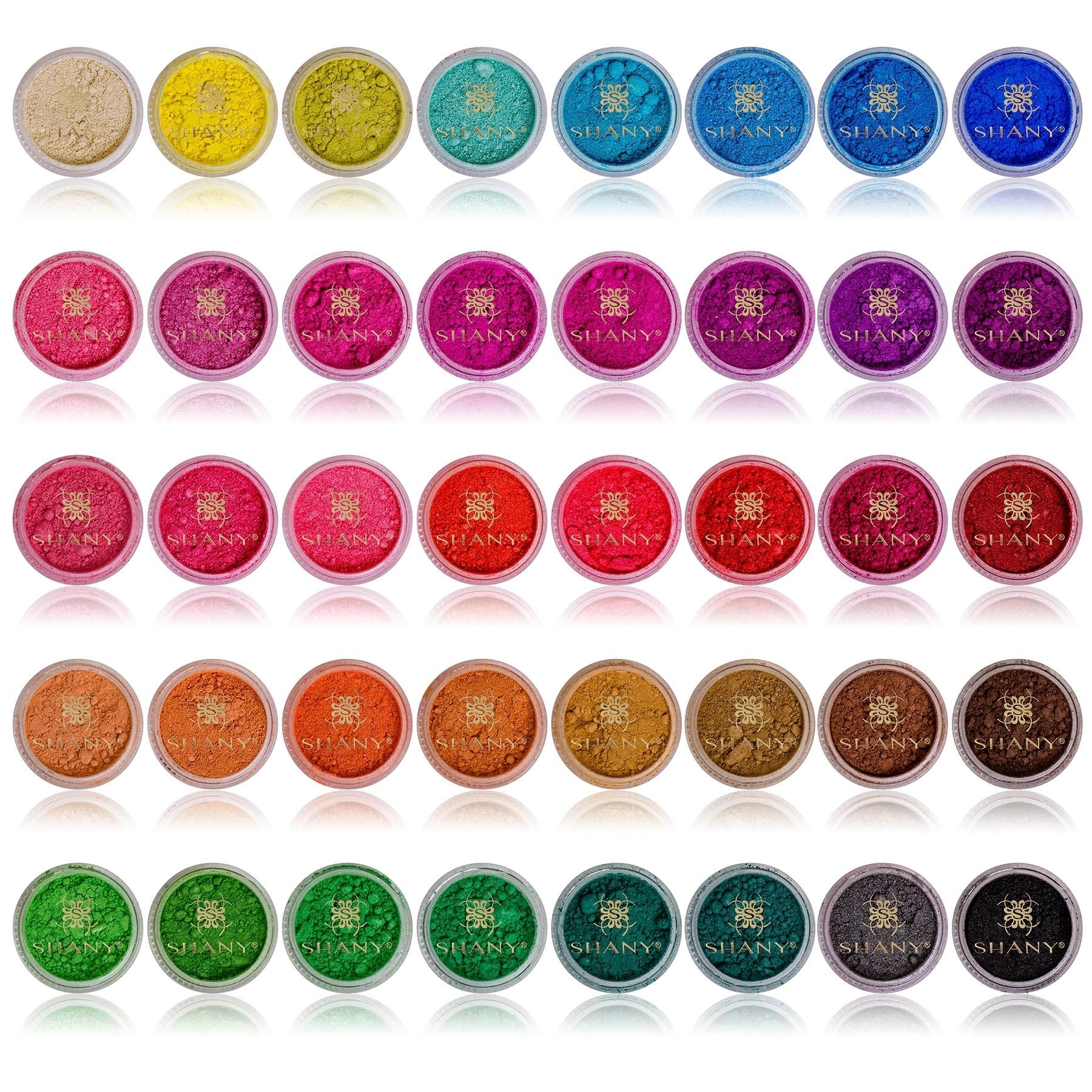 SHANY Cosmetics Shany Mineral Eye Sparkle 40 Color Stackable Eyeshadow Jars at Sears.com