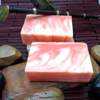 Candy Cane Handmade Soap by Karess Krafters (3 Pack)