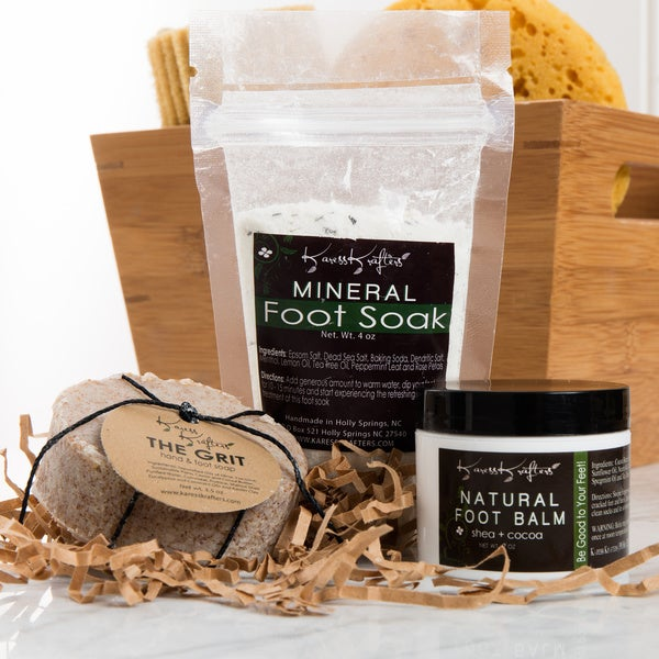 Fancy Feet Gift Set