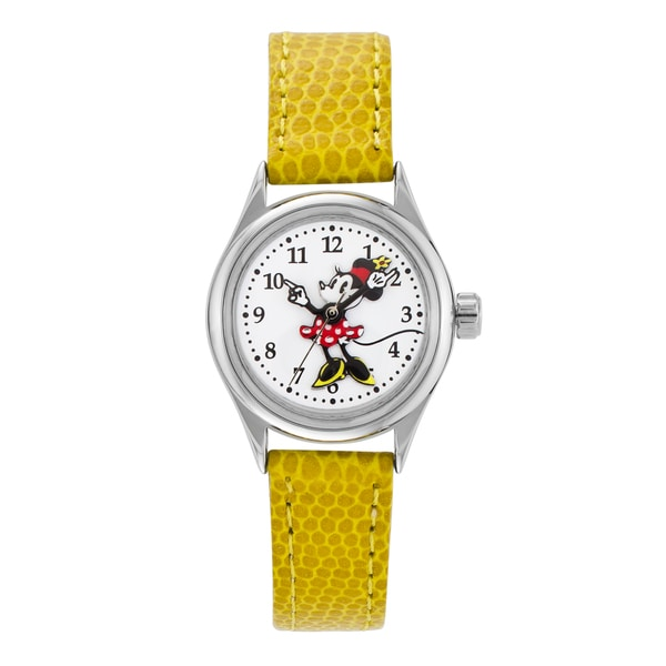 Ingersoll Women's Yellow Disney Minnie Mouse Watch