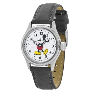 Ingersoll Women's Disney Mickey Mouse Watch with Brown Strap