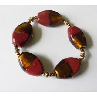 'Honey and Brick' Bracelet