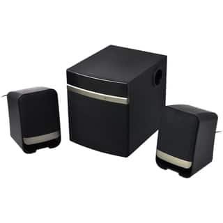 Gear Head SP3250USB 2.1 Speaker System - 14 W RMS - Gold, Black